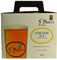 St Peter's Golden Ale 3.0 Kg 36 Pint Beer Kit
